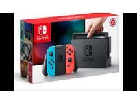 Nintendo switch plus skyrim