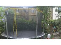 12 ft sports power trampoline for sale