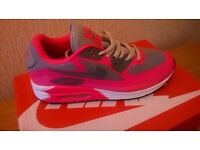 "NIKE AIR MAX ""LUNAR"" FOR WOMAN, PINK/GREY, BRAND NEW/BOXED,FEW SIZES LEFT, DELIVERY AVAILABLE ..."