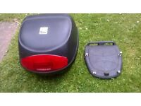 MOTOR CYCLE SCOOTER TOP BOX