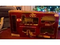 Rocky Mountain Large Size Steam Train Set ideal for Under Christmas Tree