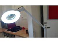 tattoo light magnifier freestanding VGC