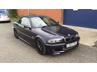 2002 BMW 330 CI SPORT CONVERTIBLE - FULLY LOADED - LOW MILEAGE - NAV - LEATHER - XENONS - HPI CLEAR