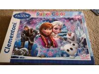 disney, frozen and jungle puzzle
