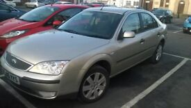 ford mondeo 1.8 petrol only 61k very good condition