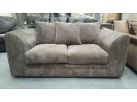 GT136 CLEARANCE SPECIAL DISCOUNT ** Jackson 2 Seater charcoal jumbo cord Was £299 NOW £150