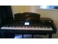 Yamaha Clavinova cvp109 Piano in mint condition with matching piano stool.