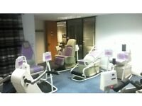 GYM EQUIPMENT (For Ladies, Fitness club) For Sale at a giveaway Price: £10,000 only.