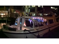 Venue boat hire central London PARTY BOAT HIRE