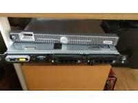 Dell Poweredge 1950 1U Server, 2GB RAM with 76gb hard drive