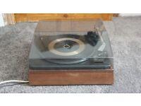 Vintage turnable garrard record player