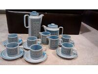 Blue Tapestry Hornsea Pottery