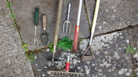 Gardening/allotment tools collection