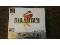 Final Fantasy 8 not ps4 ps3 Ps2 playstation xbox one gamecube gameboy snes