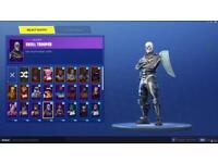Selling Skull trooper + Scythe pickaxe + 50+ outfits for £40