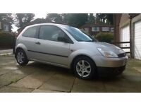 Ford Fiesta 1.25 Finesse 3dr 2004 57000 miles