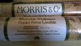 2x rolls, Morris and Co 'Fruit' wallpaper (by Sanderson), pattern number: WR8048/1
