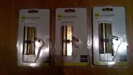 Door locks: Yale Euro Profile Cylinder locks: Brand new and sealed