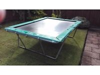 Trampoline Action Tramps Rectangle 3m+ x 2m+