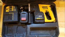 DeWalt Cordless Drill 24v with 2 Batteries