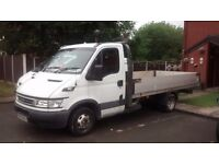 Ford iveco daily turbo pick up flat back extended ali back for sale