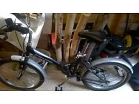 Folding bicycle - Never been used.