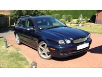 Jaguar X Type Diesel sport premium estate.