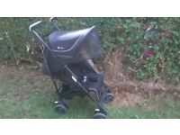 LOVELY CLEAN SILVER CROSS POP PUSHCHAIR