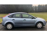 FORD FOCUS 1.6l LX (2006) year mot 5 door low 74,000 miles