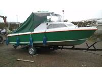 19ft Fishing Boat with Trailer and Envirude 70HP