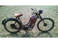 New Hudson Restyle autocycle 1957 Villiers 98cc 2f engine