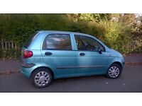Chevrolet Matiz, MOT Sept 2017, 28,000 miles only, ideal first car, exceptonal condition.