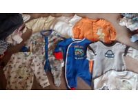 Baby Boy Clothes - Large Bundle Next, Mothercare ect. Early Baby, Newborn, 0-3 Months 3-6 Months