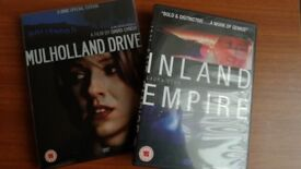 David Lynch DVD Collection: Mullholland Drive & Inland Empire DVDs
