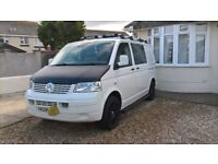 VW T5 Camper 2009 only 67k with tow bar and awning