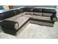 Brand New Corner Sofas, Leather Sofas, Material Sofas, Leather & Material Corner Sofas, £325