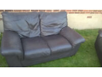 TWO SEATER SETTEE ONLY £25 BARGAIN - MAY BE ABLE TO HELP WITH DELIVERY AT EXTRA CHARGE