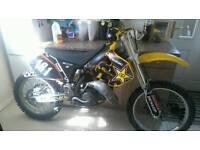 Suzuki Rm slingshot 125cc