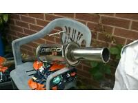 Peco boxer stainless exhaust