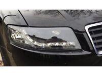Audi A4 convertible HEADLIGHT UNIT BRAND NEW BOXED 2002-2005 MODELS B6 DEVIL EYE DRL IN BLACK !!