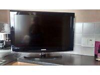 Samsung 32 inch television - Black