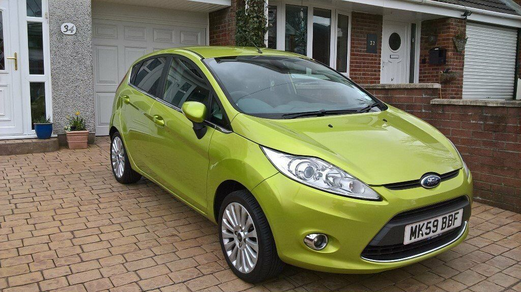 ford fiesta titanium 1 6 tdci 59 plate 60000 miles 6 months mot very clean great condition. Black Bedroom Furniture Sets. Home Design Ideas
