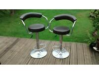 Bar stools x 2 free for collection
