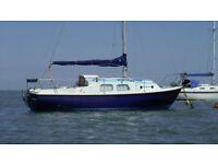 Westerly Centaur 26ft Yacht