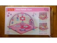 Fisher price pink petals gym