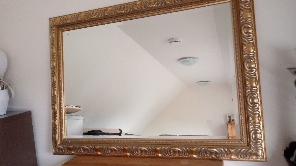 Gold Frame Mirror - Large | in Glenrothes, Fife | Gumtree