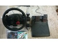 Logitech GT Driving Force kit for Playstation 3 (+ 2 driving games!)