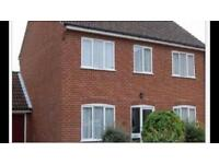 Aylsham 4 bed house, garage large mature garden.