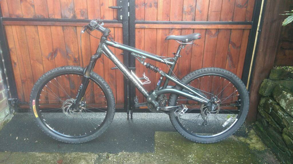 Diamondback coil full suspension mountain bike