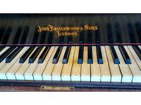 Beautiful Mahgoney Grand Piano, by John Broadwood and Sons